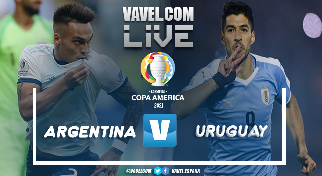 Resumen Argentina 1-0 Uruguay por la Copa América