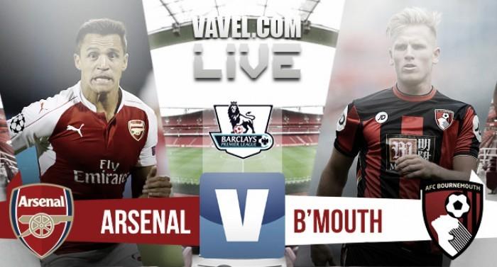 Arsenal - Bournemouth: Efectividad más que buen juego