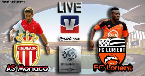 Live Ligue 1 : AS Monaco - FC Lorient, en direct