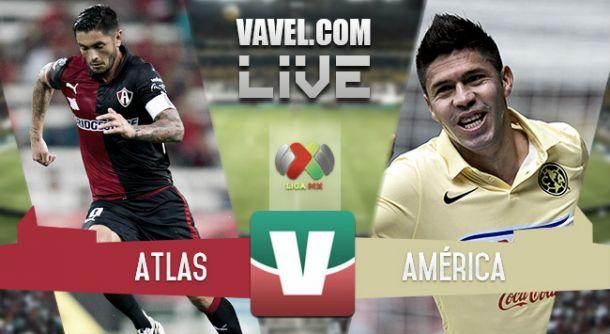 Resultado Atlas - América en la Liga MX 2015 (1-2)