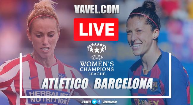 As It Happened: Atlético Madrid Femenino 0-1 Barcelona Femení in the UEFA Women's Champions League