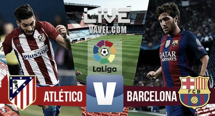 Resumen Atlético de Madrid 1-1 Barcelona en Liga 2017