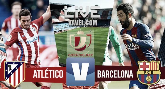 Resumen Atlético de Madrid 1-2 Barcelona en ida semifinales Copa del Rey 2017