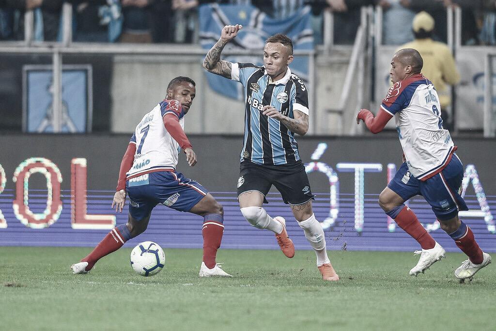 Resultado de imagem para Grêmio e Bahia decidem vaga na semifinal da Copa do Brasil