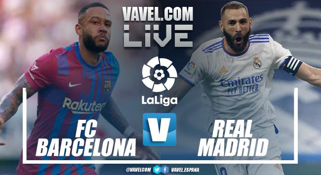 Barcelona vs Real Madrid EN VIVO y en directo online en El Clásico (1-2)