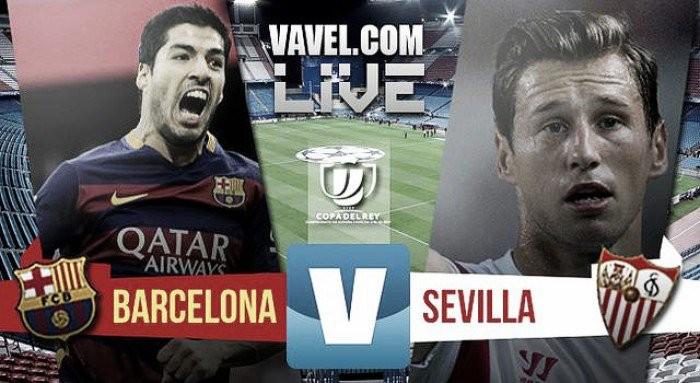 Live Barcellona-Siviglia, finale Copa del Rey 2016  (2-0): Alba-Neymar al supplementare!