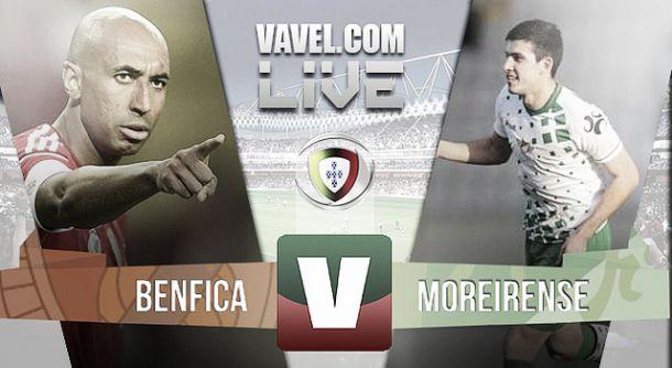 Benfica x Moreirense na Liga NOS 2015 (3-2)