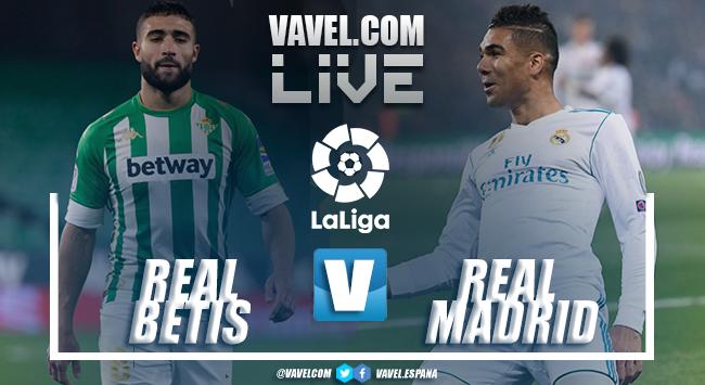 Resumen Real Betis 0-1 Real Madrid en la LaLiga 2021