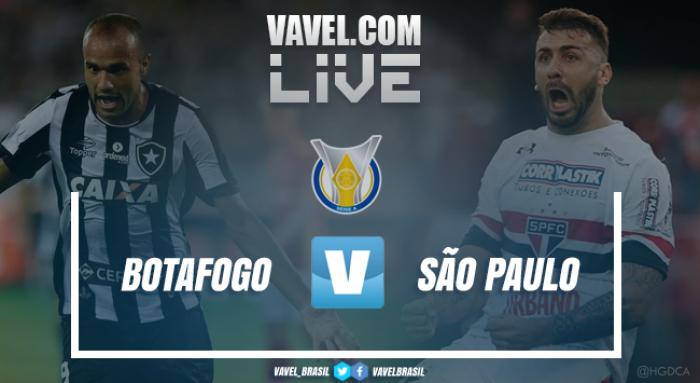 Resultado Botafogo 3x4 São Paulo no Campeonato Brasileiro 2017