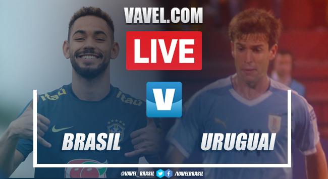 Gols e melhores momentos de Brasil 1x1 Uruguai pelo Torneio Pré-Olímpico (1-1)