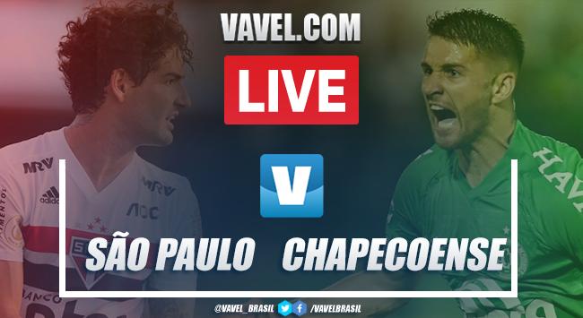 Gols e melhores momentos de São Paulo x Chapecoense pelo Campeonato Brasileiro (4-0)