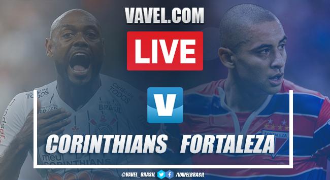 Gols e melhores momentos Fortaleza 1 x 3 Corinthians pelo Campeonato Brasileiro