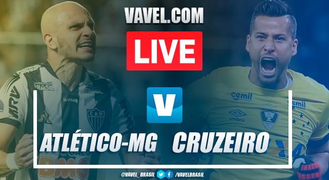 Gols e melhores momentos Atlético-MG 2x0 Cruzeiro pelo Brasileirão