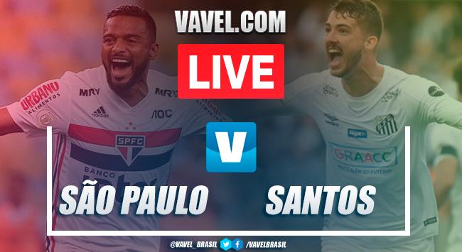 São Paulo x Santos AO VIVO hoje naCampeonato Brasileiro (0-0)