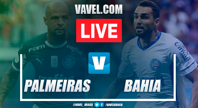 Palmeiras x Bahia AO VIVO hoje (2-2)