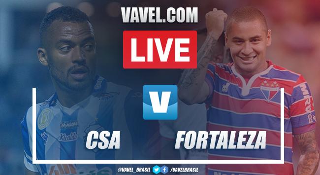 Gols e melhores momentos CSA 0x2 Fortaleza pelo Campeonato Brasileiro 2019