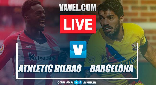 Gols e melhores momentos Athletic Bilbao 1x0 Barcelona pelo Campeonato Espanhol