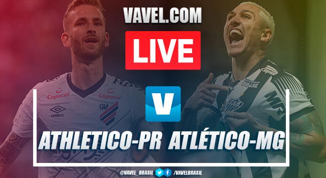 Jogo Athletico x Atlético-MG AO VIVO-PR online no Campeonato Brasileiro 2019 (0-0)