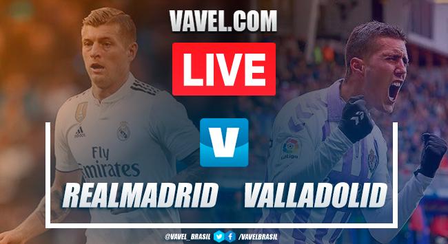 Assistir jogo Real Madrid x Real Valladolid AO VIVO online pelo Campeonato Espanhol 2019 (0-0)