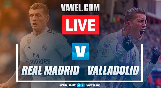 Gols e melhores momentos Real Madrid 1 x 1 Real Valladolid pelo Campeonato Espanhol 2019