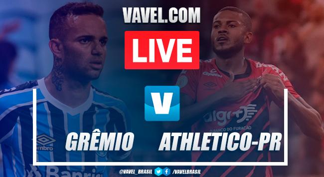 Gols e melhores momentos de Grêmio 2 x 1 Athletico-PR pelo Campeonato Brasileiro