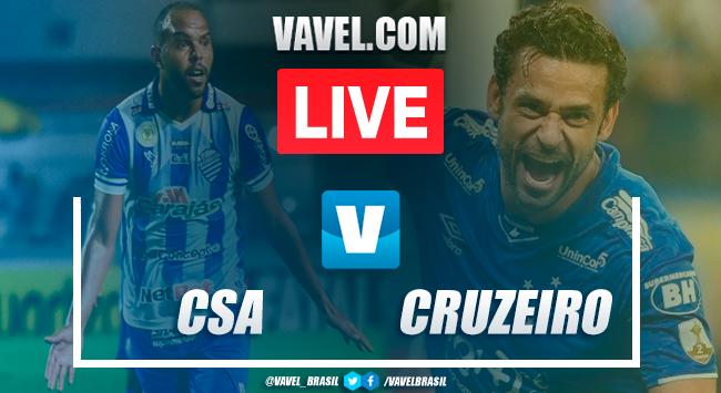 Jogo CSA x Cruzeiro AO VIVO online pelo Campeonato Brasileiro 2019 (0-0)
