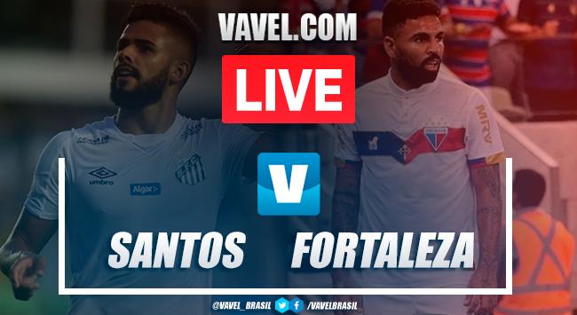 Gols e melhores momentos para Santos 3x3 Fortaleza, pelo Campeonato Brasileiro