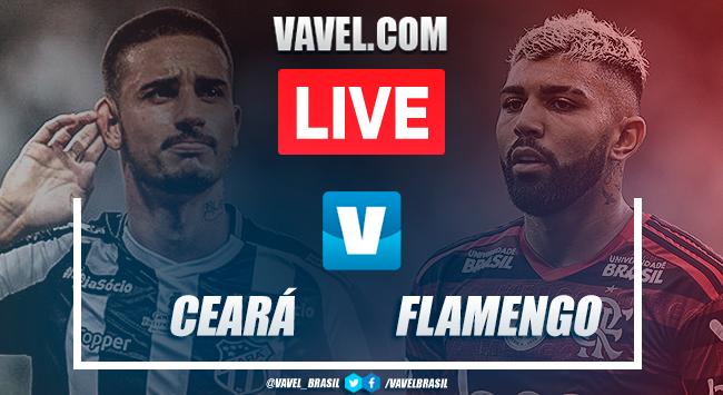 Assistir jogo Ceará x Flamengo AO VIVO online pelo Campeonato Brasileiro 2019 (0-0)