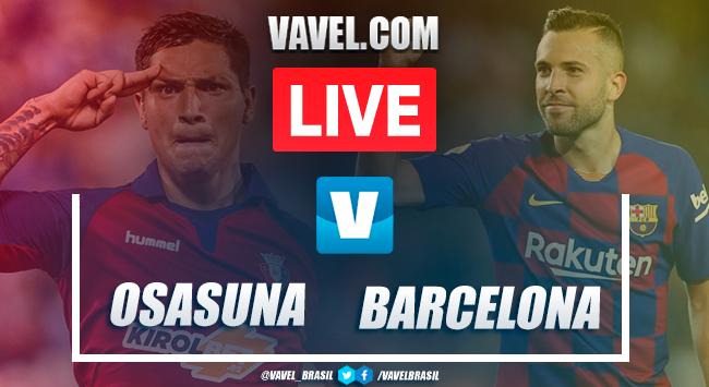 Gols e melhores momentos Osasuna 2x2 Barcelona pelo Campeonato Espanhol