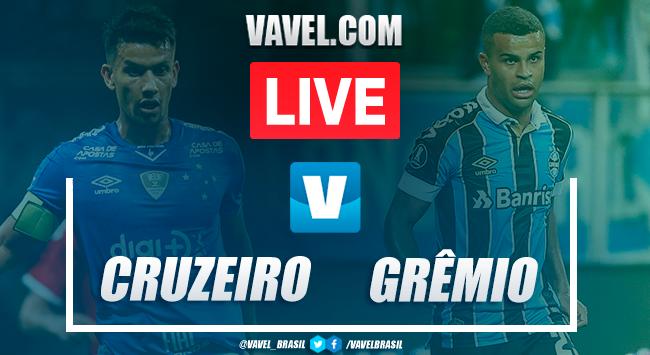 Gols e melhores momentos Cruzeiro 1x4 Grêmio pelo Brasileirão