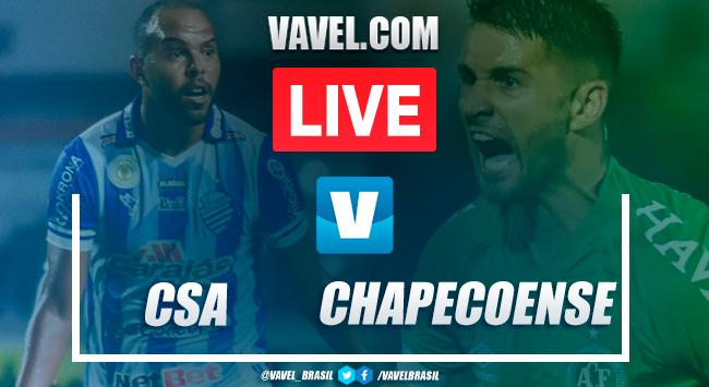 Gols e melhores momentos CSA 2x0 Chapecoense pelo Campeonato Brasileiro 2019