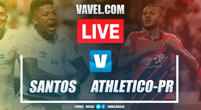 Resultado Santos x Athletico-PR pelo Campeonato Brasileiro 2019 (1-1)