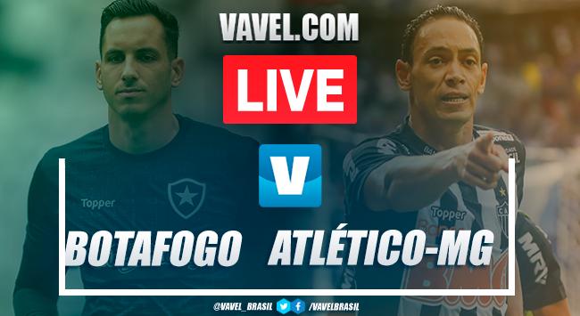 Resultado Botafogo x Atlético-MG pelo Campeonato Brasileiro 2019 (2-1)