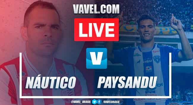 Gols e melhores momentos Náutico 2x2 Paysandu pelo Campeonato Brasileiro da Série C
