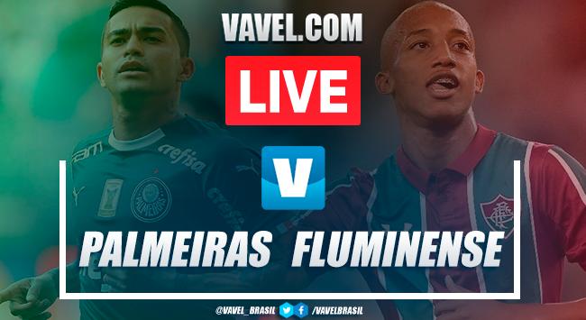 Resultado Palmeiras 3x0 Fluminense pelo Campeonato Brasileiro 2019