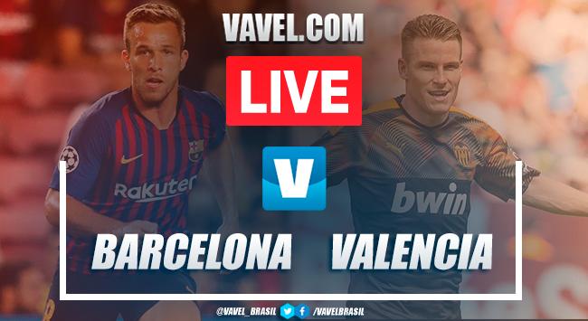 Gols e melhores momentos Barcelona 5x2 Valencia pelo Campeonato Espanhol
