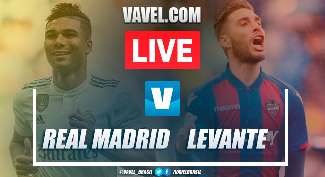 Gols e melhores momentos Real Madrid 3x2 Levante pelo Campeonato Espanhol