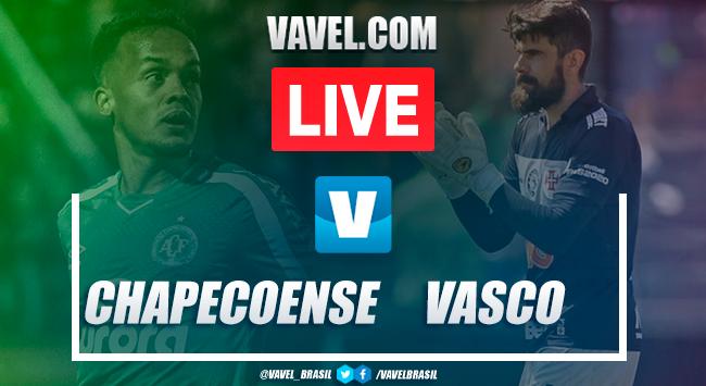 Chapecoense x Vasco no Brasileirão (1-2)
