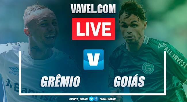 Grêmio x Goiás AO VIVO hoje pelo Brasileirão (3-0)