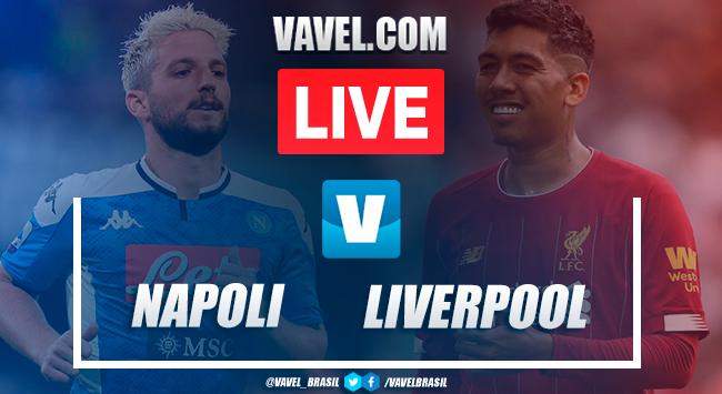 Melhores momentos e gols Napoli 2x0 Liverpool pela UEFA Champions League