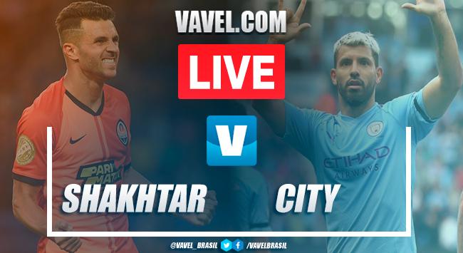 Gols e melhores momentos Shakhtar Donetsk 0x3 Manchester City pela Champions League 2019-20