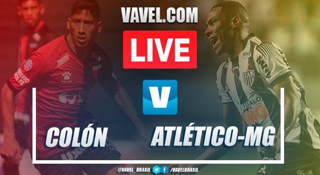 Gols e melhores momentos Colón 2x1 Atlético-MG pela Copa Sul-Americana