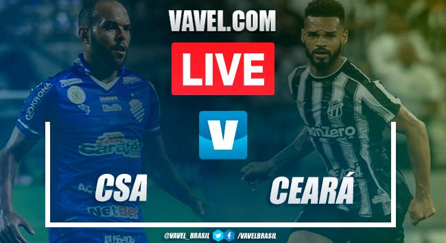 Resultado CSA x Ceará pelo Campeonato Brasileiro (1-0)