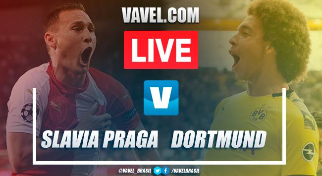 Gols e melhores momentos Slavia Praga 0x2 Borussia Dortmund pela Champions League