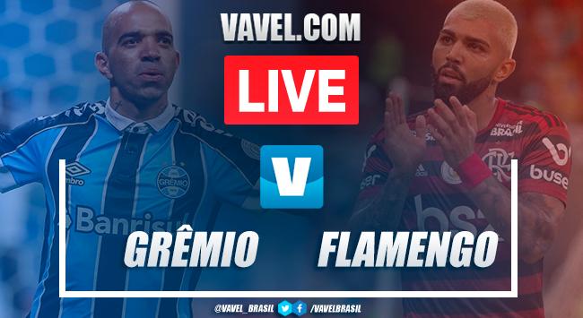 Resultado Grêmio x Flamengo pela Copa Libertadores (1-1)
