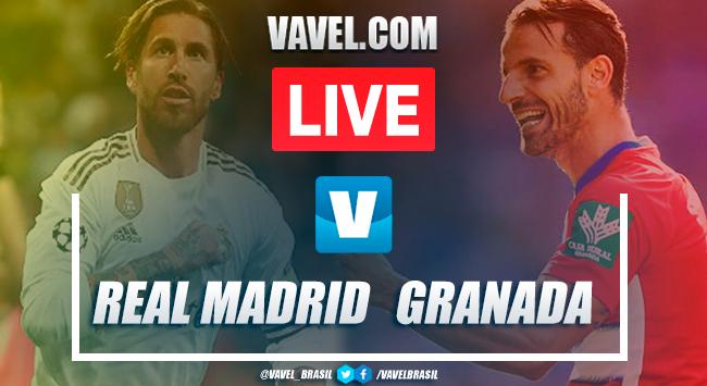 Gols e melhores momentos Real Madrid 4x2 Granada pelo Campeonato Espanhol
