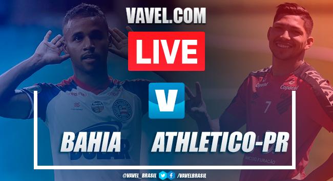 Gols e melhores momentos de Bahia x Athletico pelo Campeonato Brasileiro 2019 (1-2)