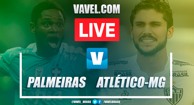 Melhores Momentos de Palmeiras x Atlético-MG AO VIVO (1-1)