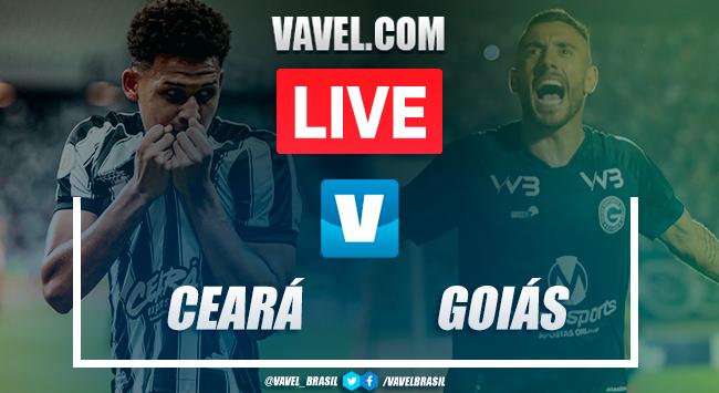 Gol e melhores momentos Ceará 0x1 Goiás pelo Campeonato Brasileiro 2019