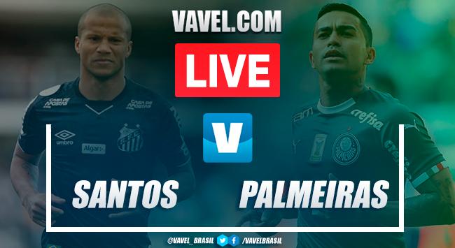 Melhores momentos Santos x Palmeiras pelo Campeonato Brasileiro 2019 (2-0)